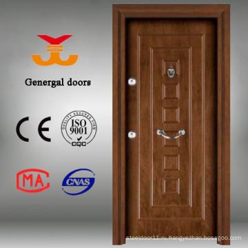 Новый дизайн Европейский дом входные деревянные двери