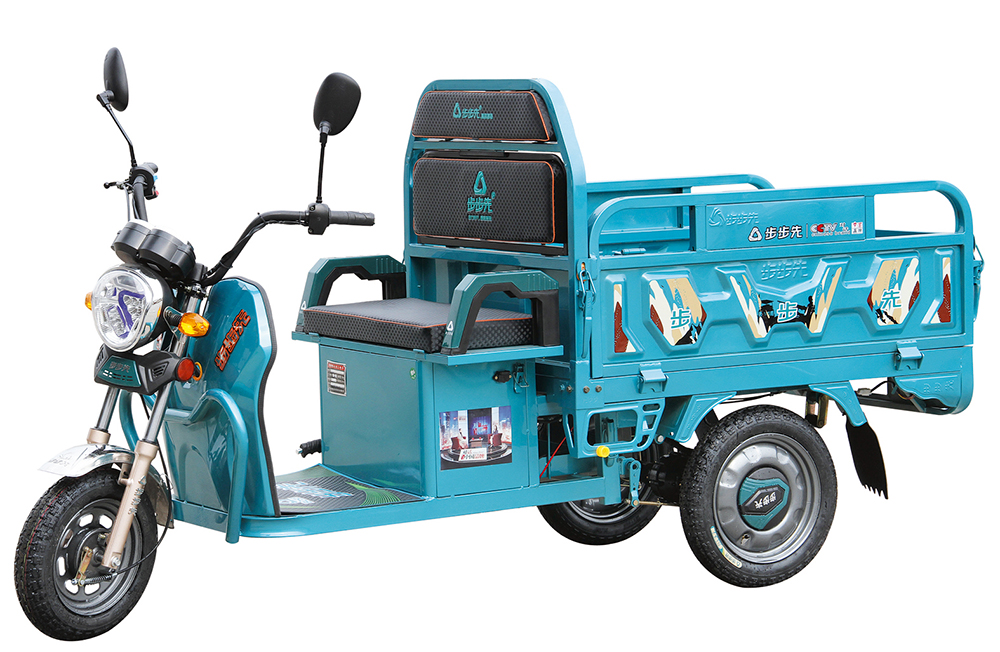 electric rickshaw with battery
