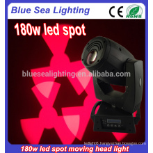 180w spot lights led moving head home party disco lighting