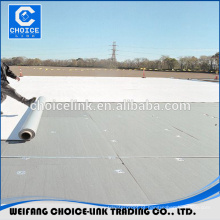 PVC reforçado impermeabilização membrana preço