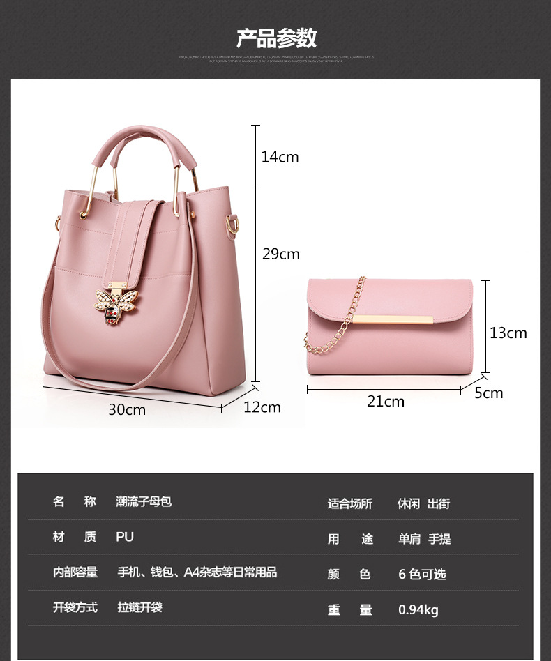 top quality lady handbag