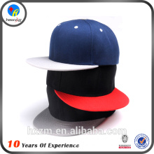 Six panels plain blank snapback hats bulk                                                                         Quality Choice