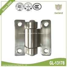 Charnière de porte plate en acier inoxydable pour usage léger