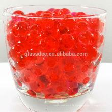 Sol de cristal de mariage, perles d'eau