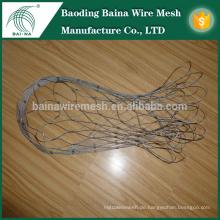85L Edelstahl Metall Seil Mesh Bag mit verzinktem quadratischen Drahtgeflecht