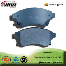 SEMI-METALLIC CAR BRAKE PAD FOR Chevrolet Cruze Rotors Front 2011