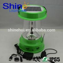 Garantía de calidad de las linternas llevadas solares, linterna llevada recargable 36