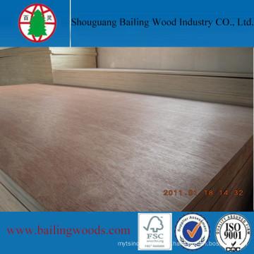 Paneles de chapa de madera de madera de álamo