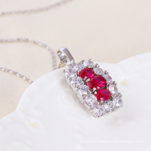 Xuping Luxury Fashion Pendant in White Gold