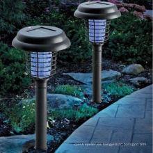 Nuevo Solar Power LED Yard Lawn Light Party Path Lámpara de jardín Spotlight al aire libre