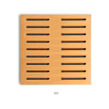 Perforated Wood Acoustic Panel with Middle Density Fiberboard