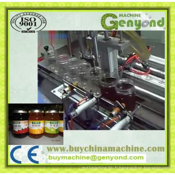Machine de remplissage automatique de confiture de bouteille en verre