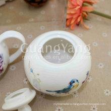 CE EU CIQ EEC FDA LFGB Certificates Porcelain Enameled Cheap Ceramic Teapot