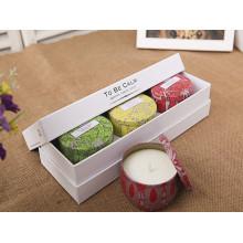 Bouquet de chèvre personnalisé à base de soja pur dans une belle boîte
