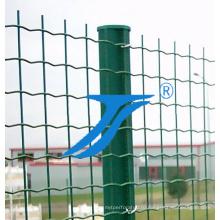 С покрытием из ПВХ сварная сетка, зеленый сварной сетки с покрытием из ПВХ
