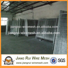 hot dipped galvanized &pvc coated used temporary fence for sale