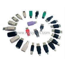 USB A a Mini B Adaptador de cabo de dados de 5 pinos Adaptador USB usb macho / M MP3