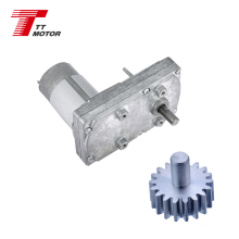 24v dc worm gear motor 100rpm with 555 motor