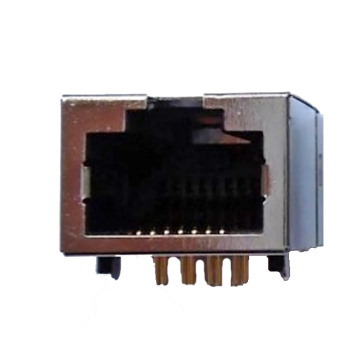 RJ45 8P8C Sink in Geen Led Geen EMI