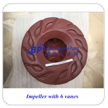 Centrifugal Anti Abrasion Slurry Pump Parts Impeller