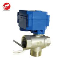 CWX-15q control de válvula de flujo de bola motorizada