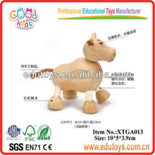 Wooden Toy Animal,Toy Bull