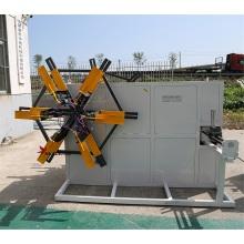 enrollador de máquina de bobinado de doble disco de tubo de plástico