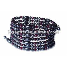 """Grânulo magnético Beaded wrap pulseiras & colar 36 """""""