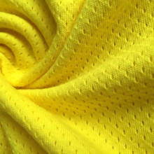 Jacquard mesh hole cotton fabric