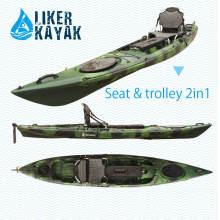 Single Seat Kayak sitzen auf Top Motor Kajak