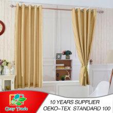 Faux Silk, Slubbed, Full Lined 100%Blackout Curtain
