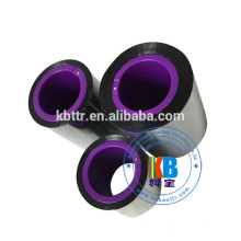 Ruban noir compatible d'imprimante de machine d'emballage de sacs d'OPP pour smartdate x40 x60