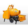 Electric and diesel trailer concrete mixer pump