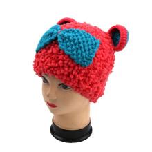 2016 Hand Knit Bear Panda Hat Beanie