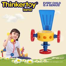 2015 новые пластиковые игрушки образования для детей строительные игрушки