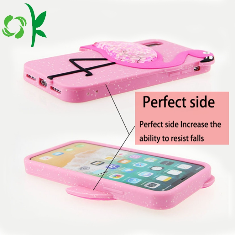 Silicone Mobile Pink Cover