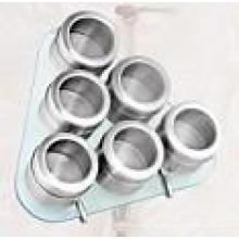Especiero magnético de acero inoxidable (CL1Z-J0604 - 6G)