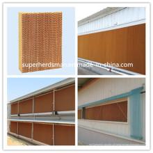 Almofada de resfriamento evaporativo de alta qualidade para equipamentos de fazenda de aves de capoeira