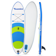 Inflatable Stand Up Paddle Board(6 Inches Thick)with SUP Accessories & Carry Bag Wide Stance,Bottom Fin for Paddling Surfing
