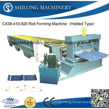 Professional Supplier of Glazed Color Steel Roof Tile Roll Forming Machine