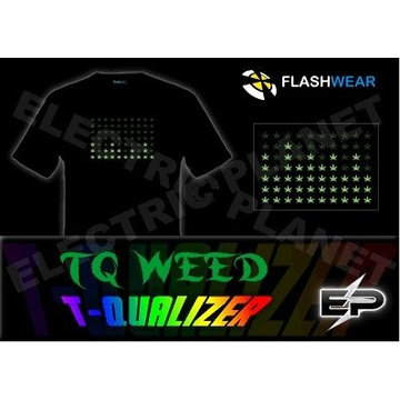 [Stunningly]Wholesale fashion hot sale T-shirt A105,el t-shirt,led t-shirt