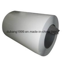 Bobinas de aço galvanizado pré-pintadas com estoques completos