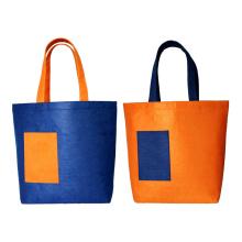 customized wool Felt Bag Handbags Women reusable  Shopping Bags Tote Bag
