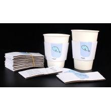 Printed Paper Cup Sleeves für heißes Trinken