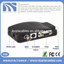 BNC to VGA video converter TV to PC convertor