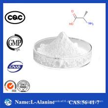 98,5% -101,0% Pureza Alta qualidade Fábrica Preço L-Alanina