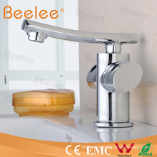 Fancy Durable Brass Two Handle Basin Mixer Faucet for The Bathroom