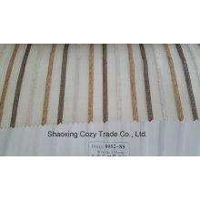 Neue Populäre Projekt Streifen Organza Voile Sheer Vorhang Stoff 008289
