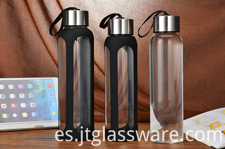 Double Wall Glass Bottle