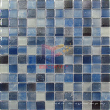 Latest New Double Deck Decorative Wall Glass Tile Crystal Mosaic (CD460)